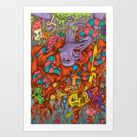 Tangled Up Art Print