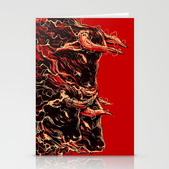 bull Stationery Card