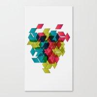 Geomexplosion Canvas Print