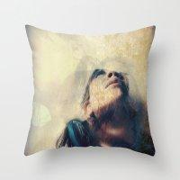 Spirit Bird Throw Pillow