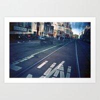Amsterdam Double Exposur… Art Print