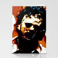 Leatherface Stationery Cards