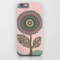 iPhone & iPod Case featuring Fabby Flowers-Vintage colors by Groovity