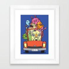 Designated Driver Framed Art Print