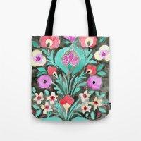 Eve Flower Tote Bag