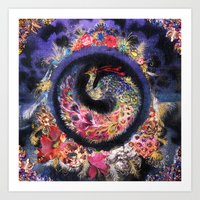 Oracular Orbit Art Print
