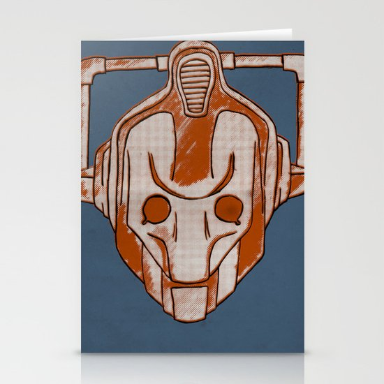 Warholian Cybermen (Doctor Who) Stationery Card