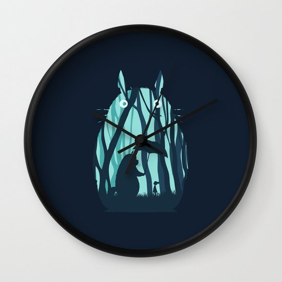 My Neighbor Totoro Wall Clock