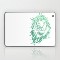 Green Lion Laptop & iPad Skin