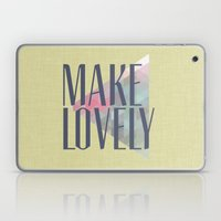 Make Lovely // Leaf Laptop & iPad Skin