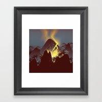 Boom! (Cropped Version) Framed Art Print