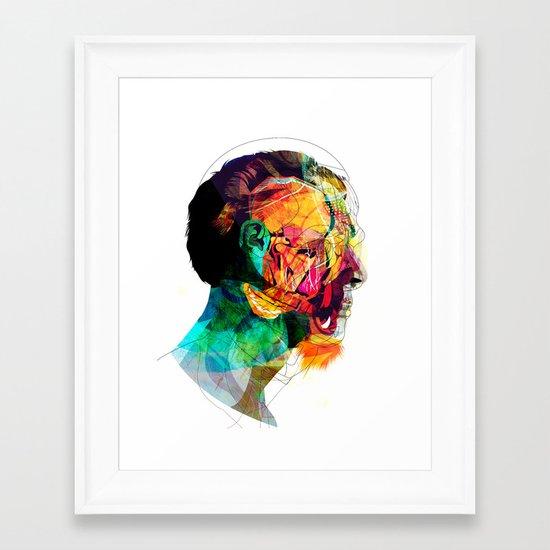 Perfil260913 Framed Art Print