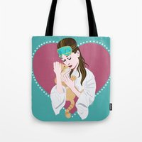 Holly Golightly's Cat / … Tote Bag