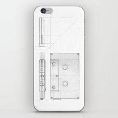 Cassette Tape  Projection iPhone & iPod Skin