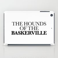THE HOUNDS OF THE BASKER… iPad Case
