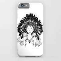 Native American Girl iPhone 6 Slim Case