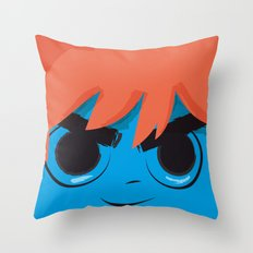 Post it Portrait: Scott Pilgrim Throw Pillow