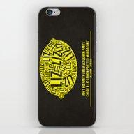 30 Rock - Liz Lemon iPhone & iPod Skin