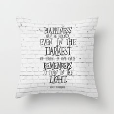Albus Dumbledore Quote Inspirational Throw Pillow