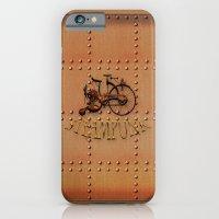 Steampunk bike iPhone 6 Slim Case