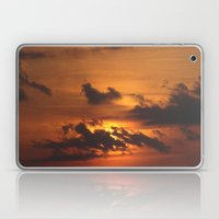 FIRE SKY Laptop & iPad Skin