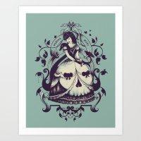 Mrs. Death Art Print
