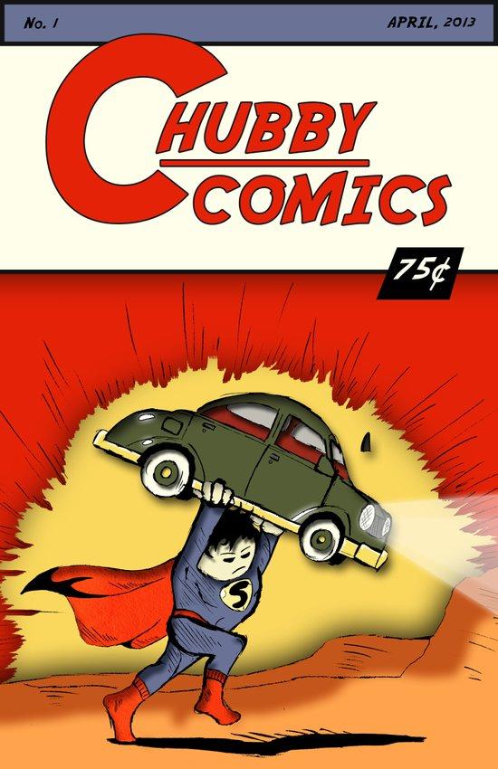 Chubby Comics No. 1 Art Print