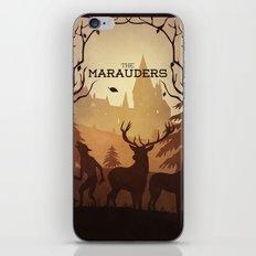 The Marauders iPhone & iPod Skin
