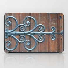 Church swirls iPad Case