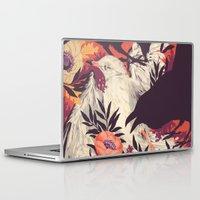 bird Laptop & iPad Skins featuring Harbors & G ambits by Teagan White