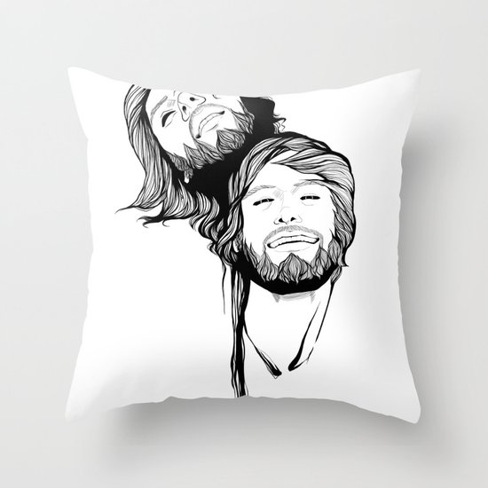 What if I was wrong, and started trying to fix it? Throw Pillow
