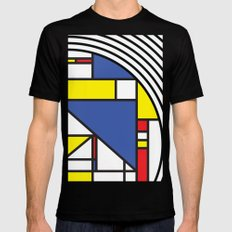 Getz Black Mens Fitted Tee SMALL