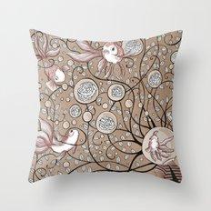 Mindblown. (fishbowl) Throw Pillow