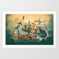 Goblins Drool, Fairies Rule! - Team Goblin Art Print