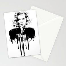 Avengers in Ink: Black Widow Stationery Cards