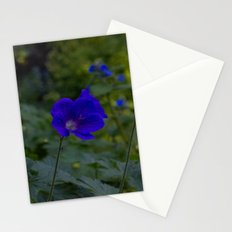 Summer Purple flowers Stationery Cards
