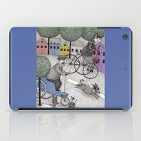 The Day the Cat got Away iPad Case