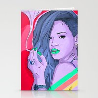 We Found Love Remix Stationery Cards