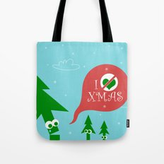 Greestmas. Save Xmas Trees Tote Bag