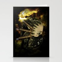 Machine thoughts Stationery Cards