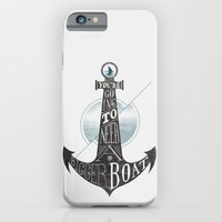 iPhone & iPod Case featuring You're going to need a bigger boat by Koning
