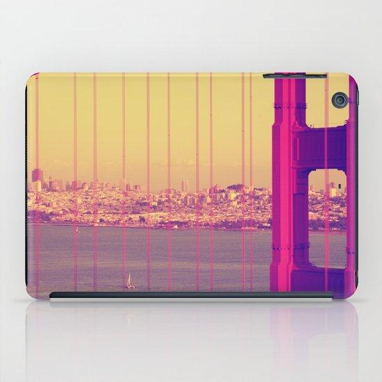 Golden Gate Into San Francisco iPad Case