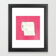 To-Do-Do List Framed Art Print