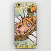 Atlantis Flying Ship #1 iPhone & iPod Skin