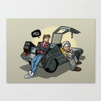 Blast from the past Canvas Print