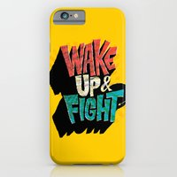 Wake Up And Fight iPhone 6 Slim Case