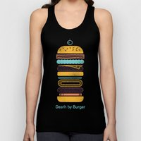 Death by Burger Unisex Tank Top