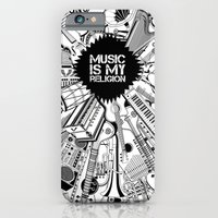 iPhone & iPod Case featuring Music is my religion. by vidhi shah