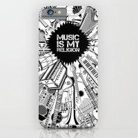 Music Is My Religion. iPhone 6 Slim Case