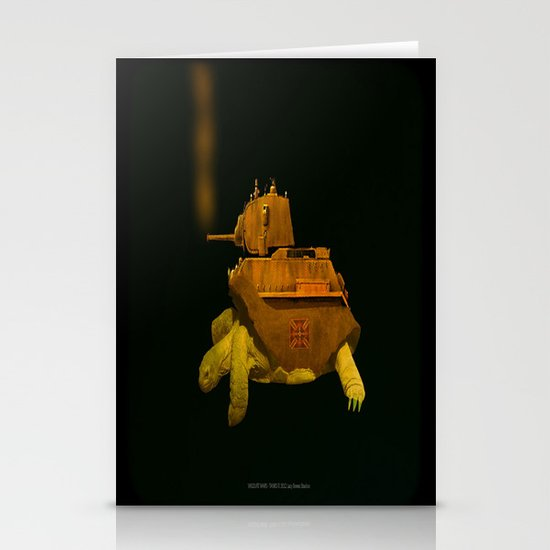 Have Gun Will Travel Stationery Card
